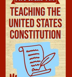 Five C's To Teaching the United States Constitution   misterharms.com [ 1102 x 735 Pixel ]