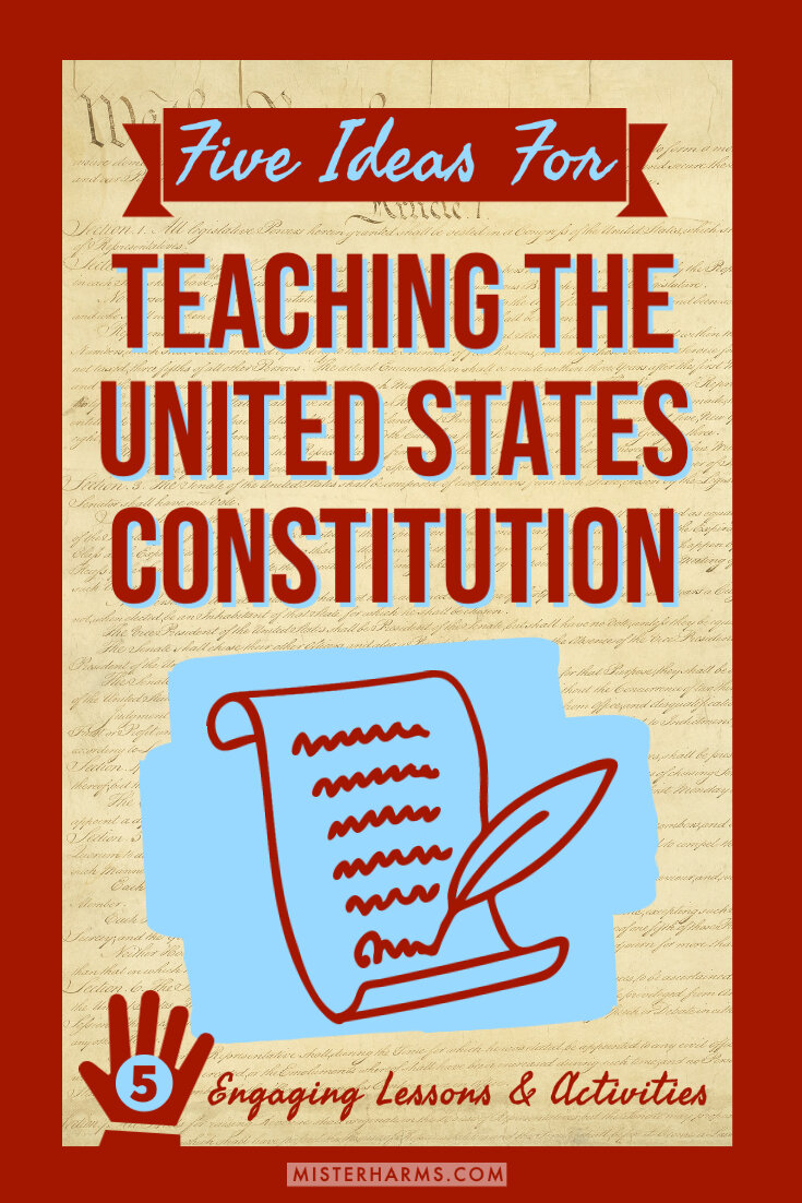 hight resolution of Five C's To Teaching the United States Constitution   misterharms.com