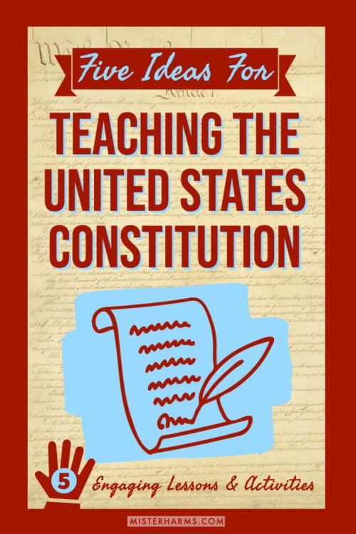 small resolution of Five C's To Teaching the United States Constitution   misterharms.com