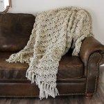 Eleanor Throw Blanket Crochet Pattern Darling Be Brave