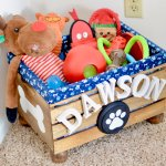 Diy Wooden Crate Toy Box For Dogs Breanna Spain Blog