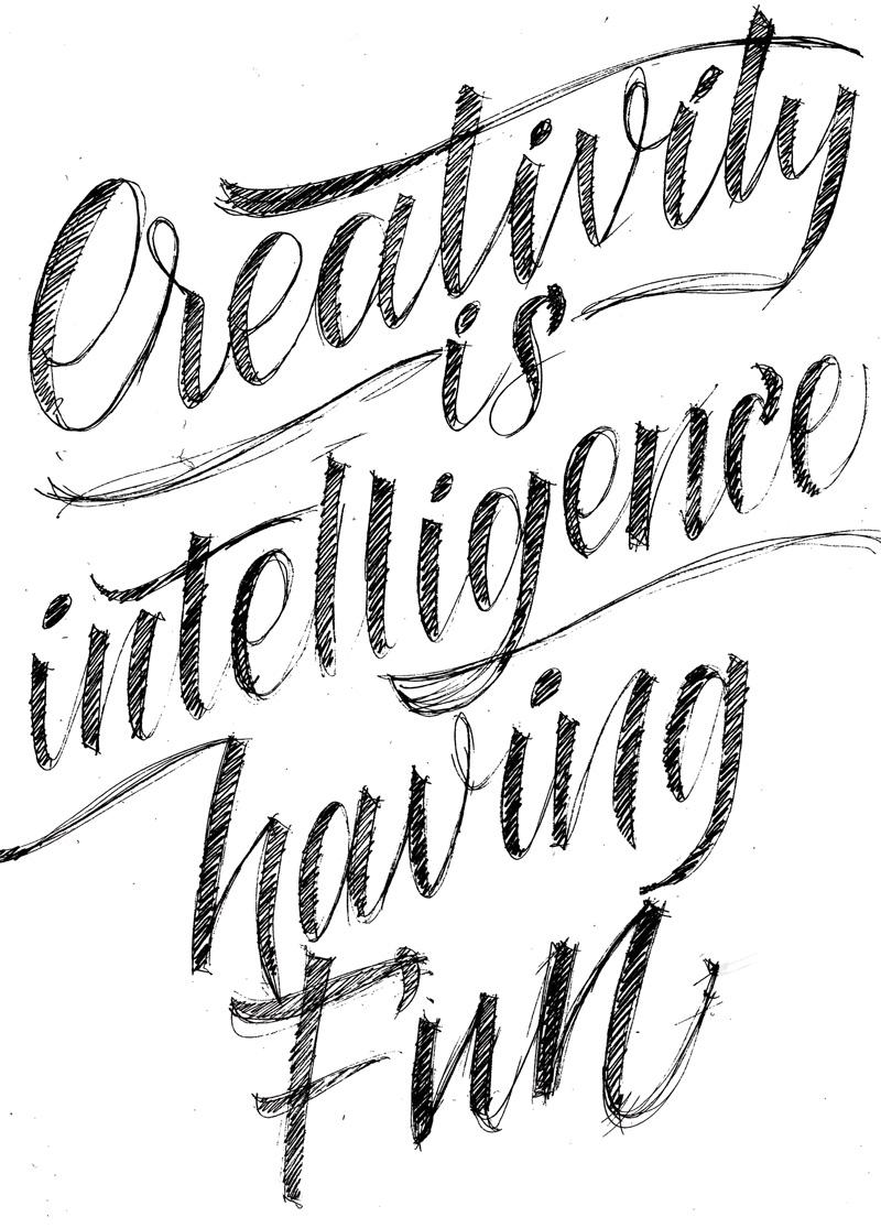 Creativity is intelligence having fun #LEFD — Bruna Zanella
