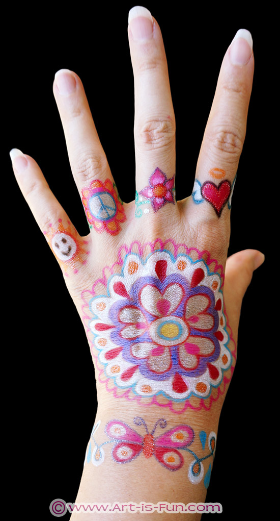 Funny Things To Draw On Your Hand : funny, things, Henna, Designs, Lesson:, Unique, Self-Portrait