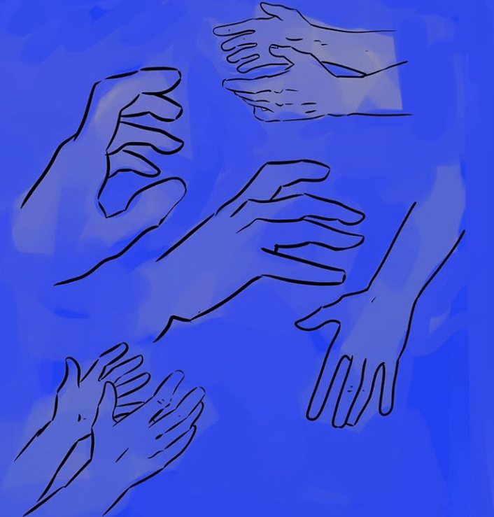 drawing hands becky jewell