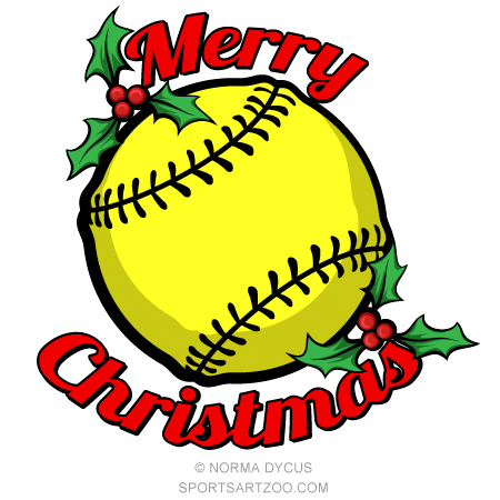 I love softball svg art word sentence. Softball Merry Christmas Sportsartzoo