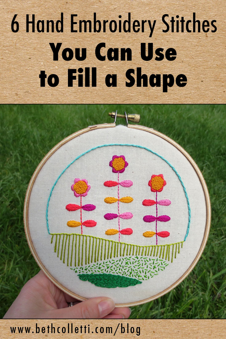Hand Embroidery Stitches : embroidery, stitches, Embroidery, Stitches, Shape, Colletti, Design