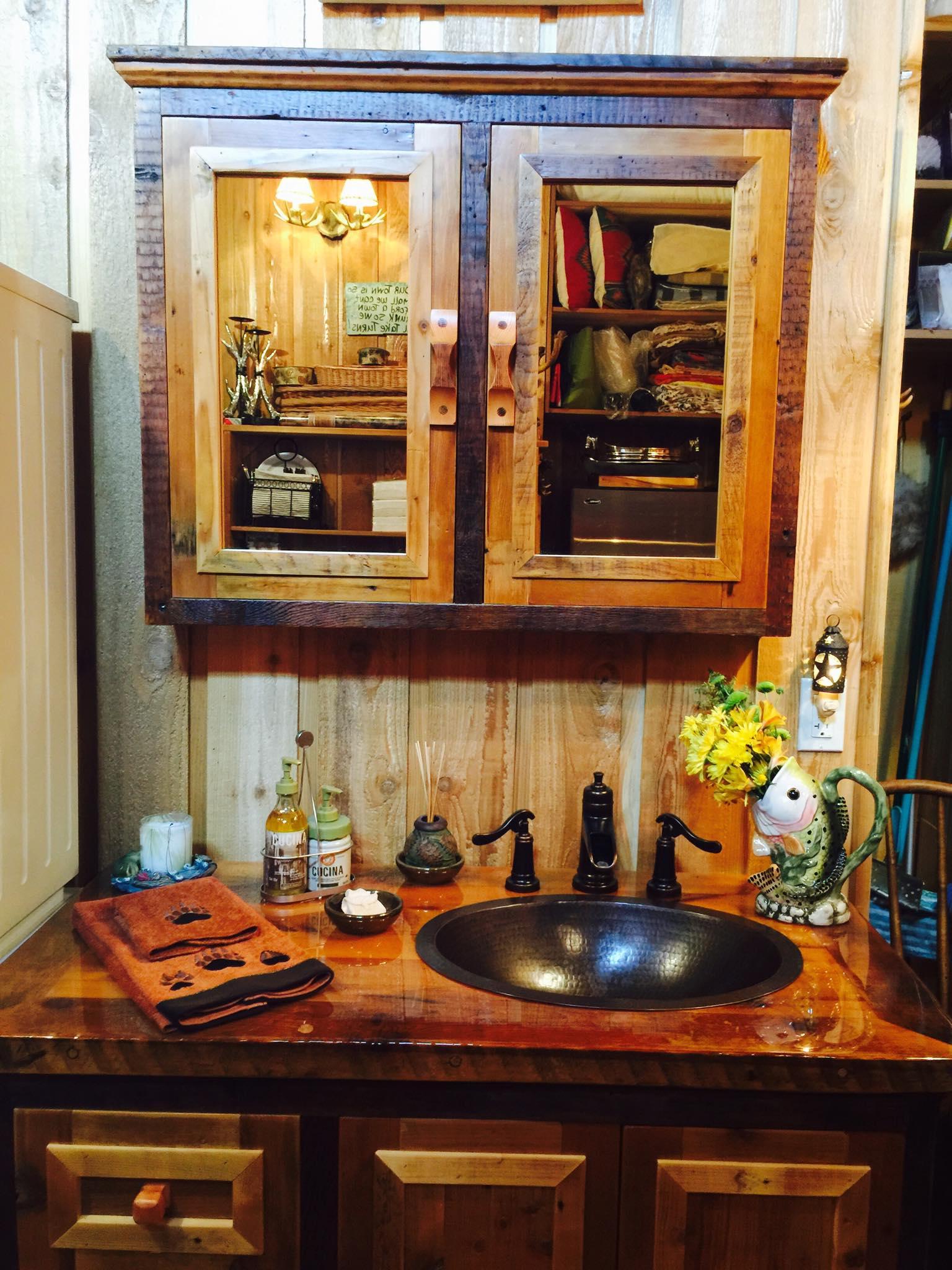 rustic bathroom vanities vienna woodworks