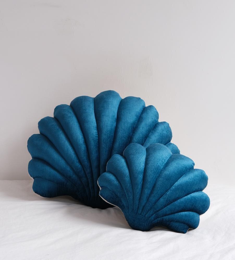 clic print solid pillows