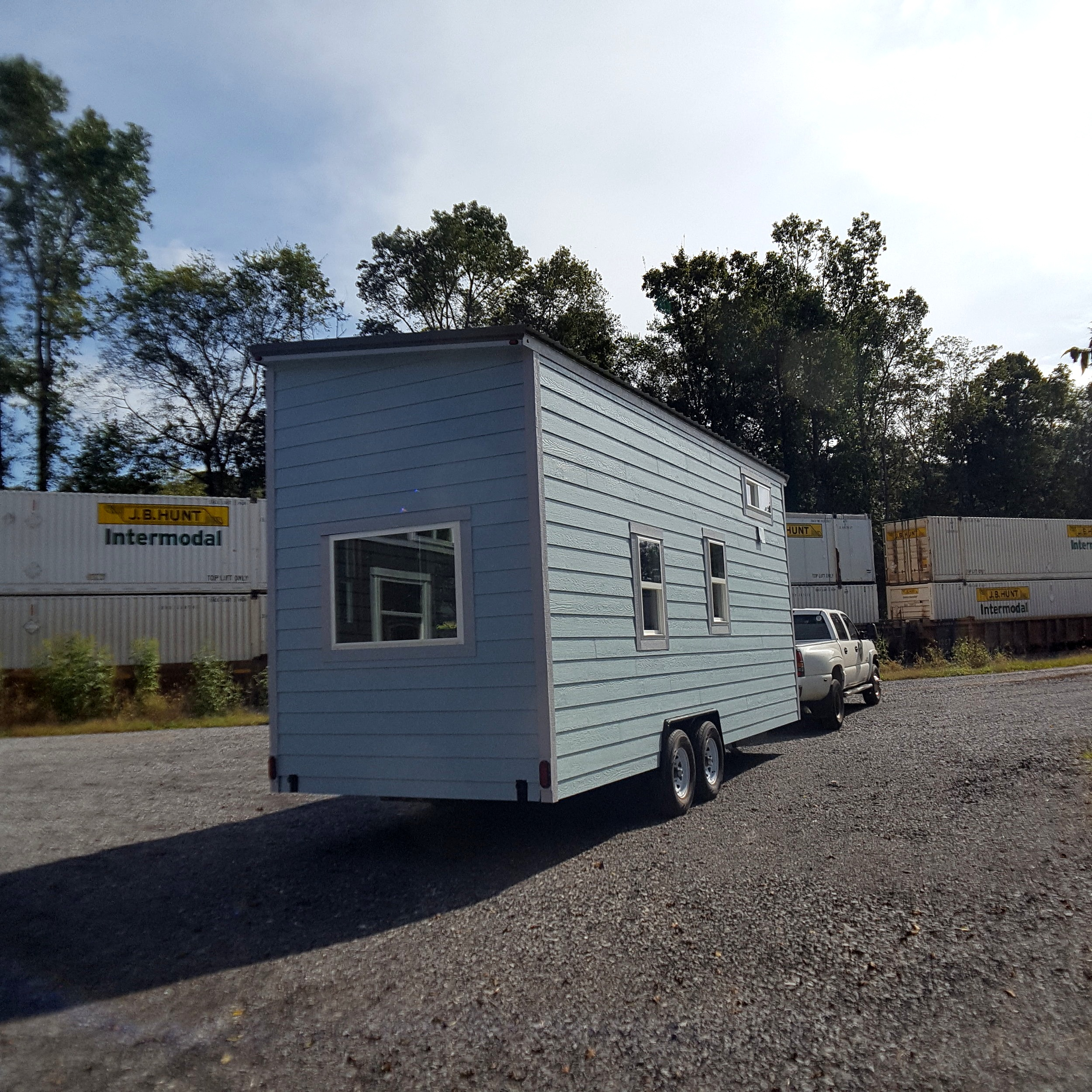 hight resolution of shell tiny home