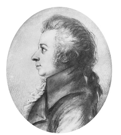 Mozart Malvorlage