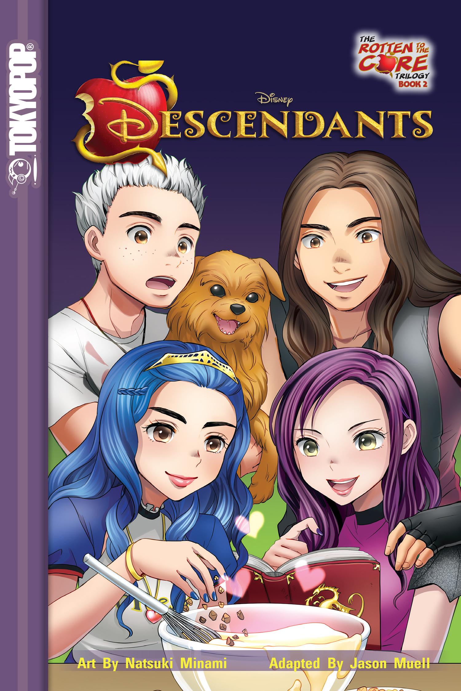Descendants Rotten To The Core : descendants, rotten, Descendants:, Rotten, TOKYOPOP