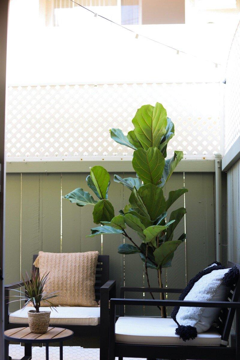 small apartment patio reveal lments