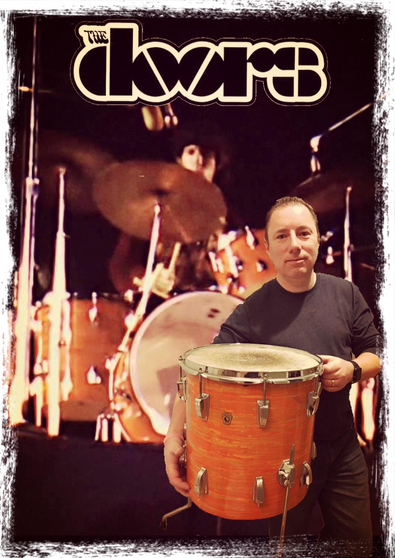 Mod Real Drum : Densmore's, Ludwig, Orange, Doors, Modern, Drummer