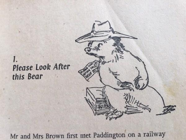 paddington bear poem # 73