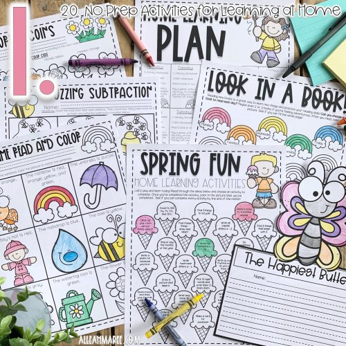 small resolution of 20 No Prep Activities for Learning at Home — Alleah Maree