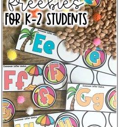 21 Summer Freebies for K-2 Students — Alleah Maree [ 1500 x 1000 Pixel ]