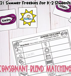 21 Summer Freebies for K-2 Students — Alleah Maree [ 1000 x 1000 Pixel ]
