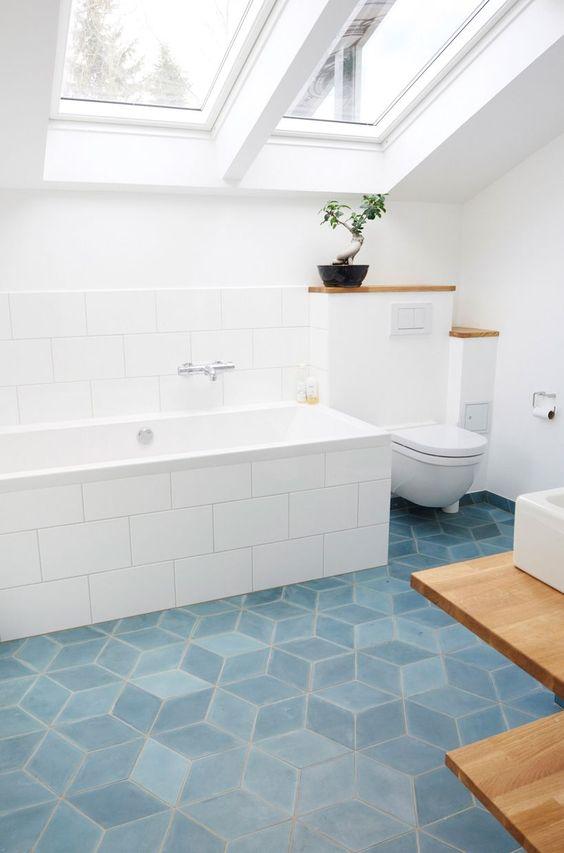 45 fantastic bathroom floor ideas and
