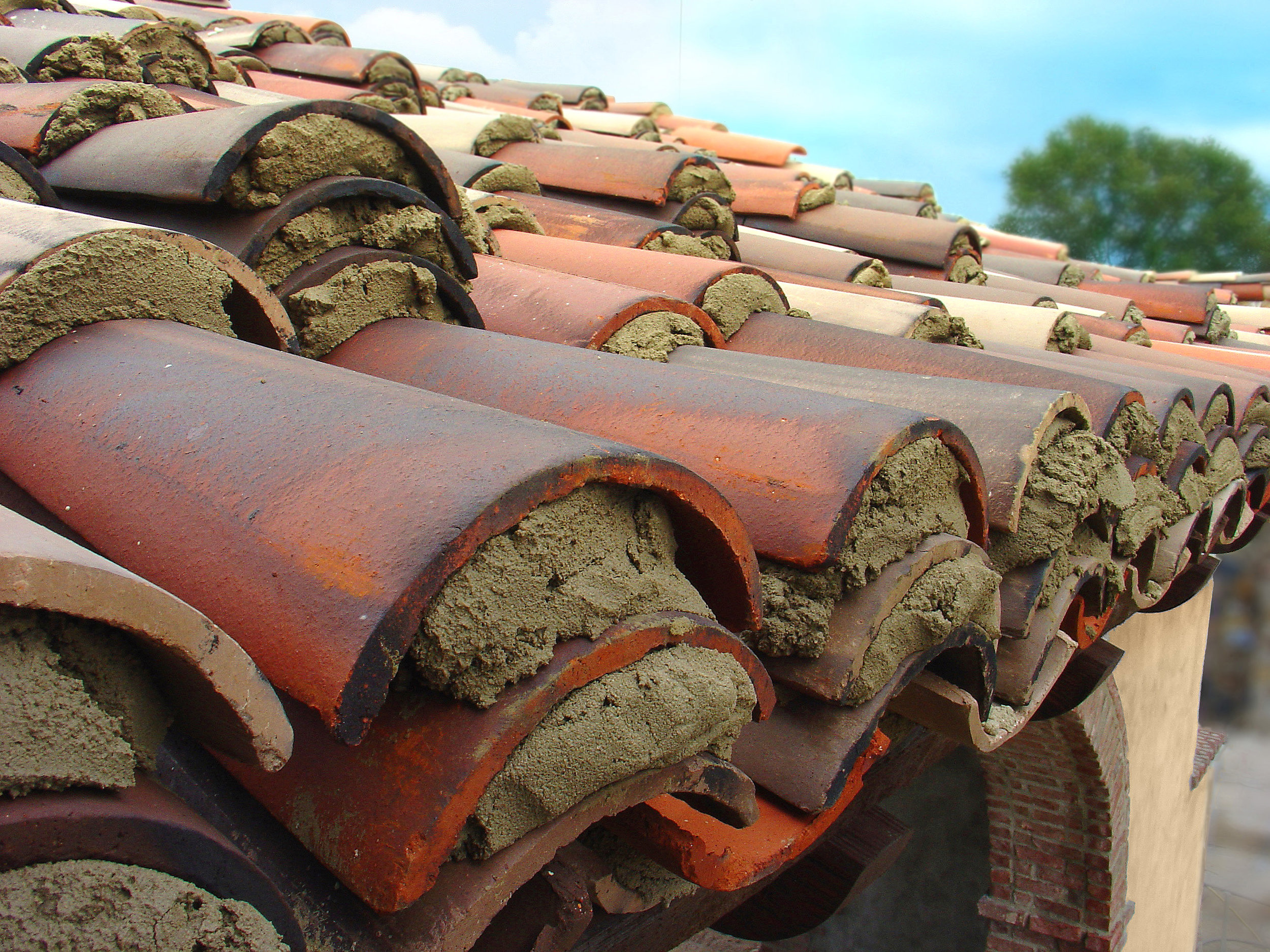 bella collina clay tile roofing