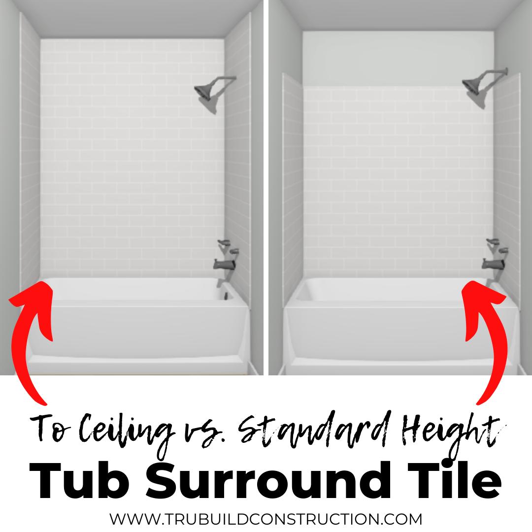 creative bathtub tile ideas and