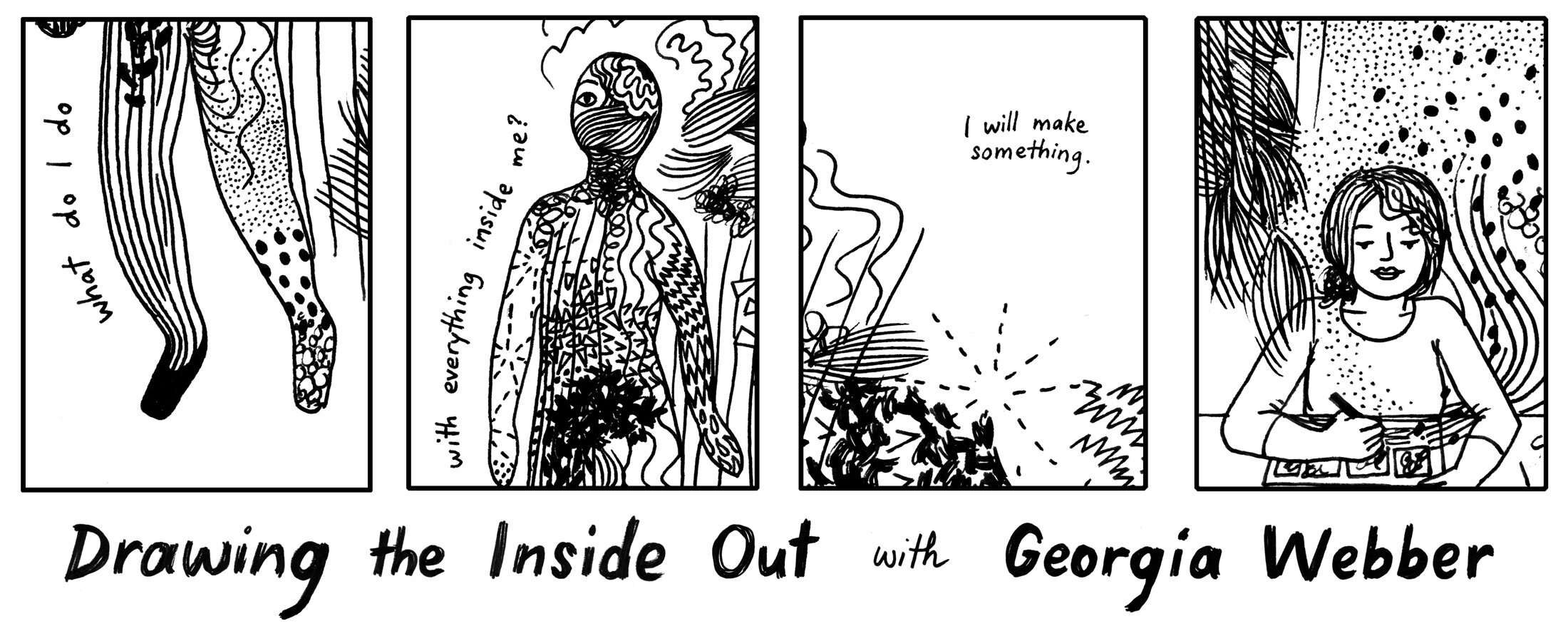 Drawing the Inside Out, with Georgia Webber — Flying Books
