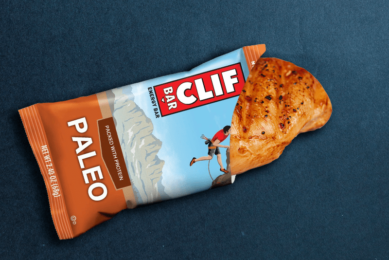 New CLIF PALEO Bars Basically Just Grilled Chicken Breasts ...