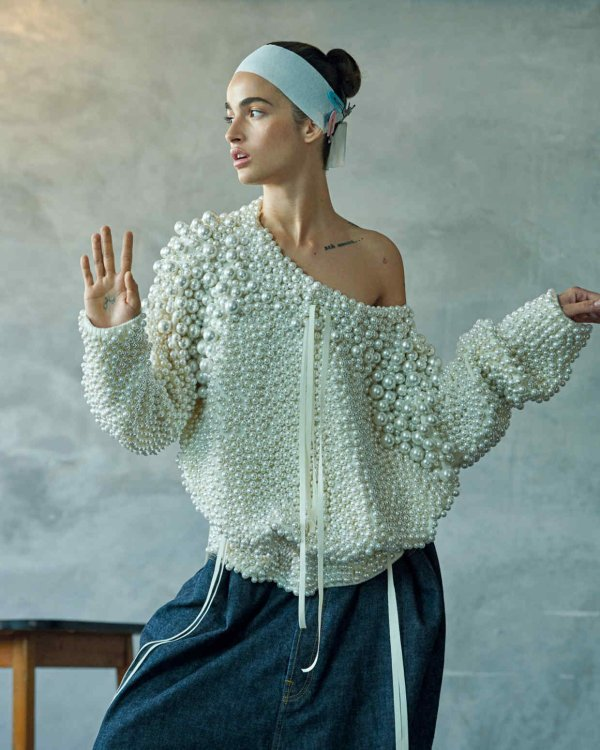 knitGrandeur: Pearl on Pearl