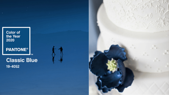 Classic Blue Pantones Color of the Year 2020 Embraces Wedding Tradition