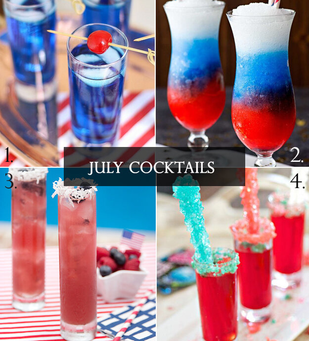 Fun Fourth of July Cocktails