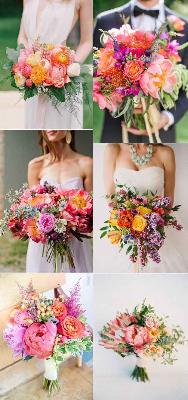 6 Stunning Summer Wedding Bouquets That You'll Love