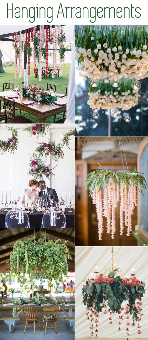6 Stunning Hanging Arrangements
