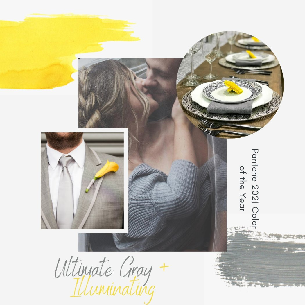 Ultimate Gray + Illuminating: Pantone's Color of the Year