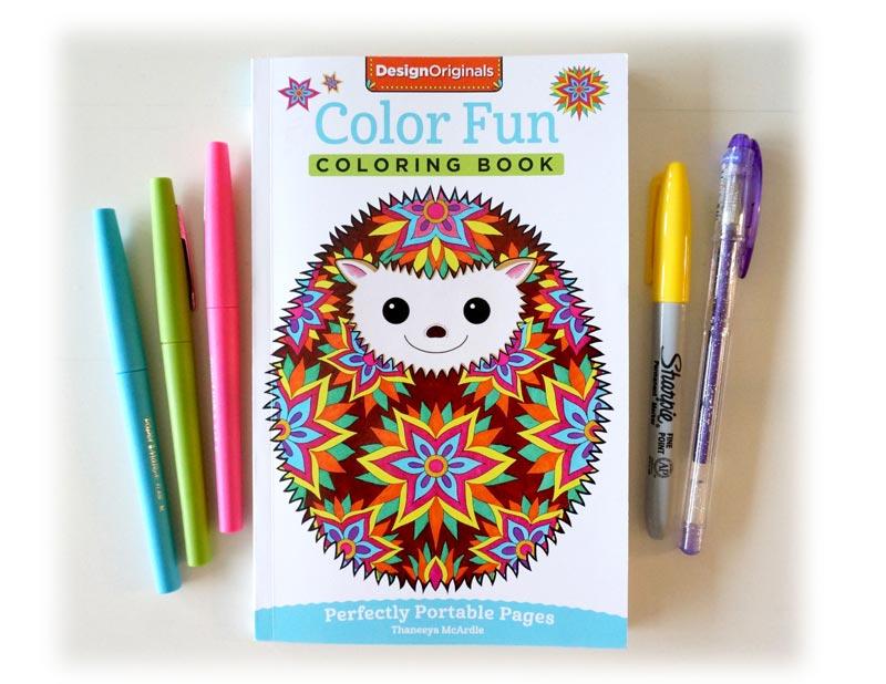 Color Fun Coloring Book By Thaneeya Mcardle Thaneeya Com