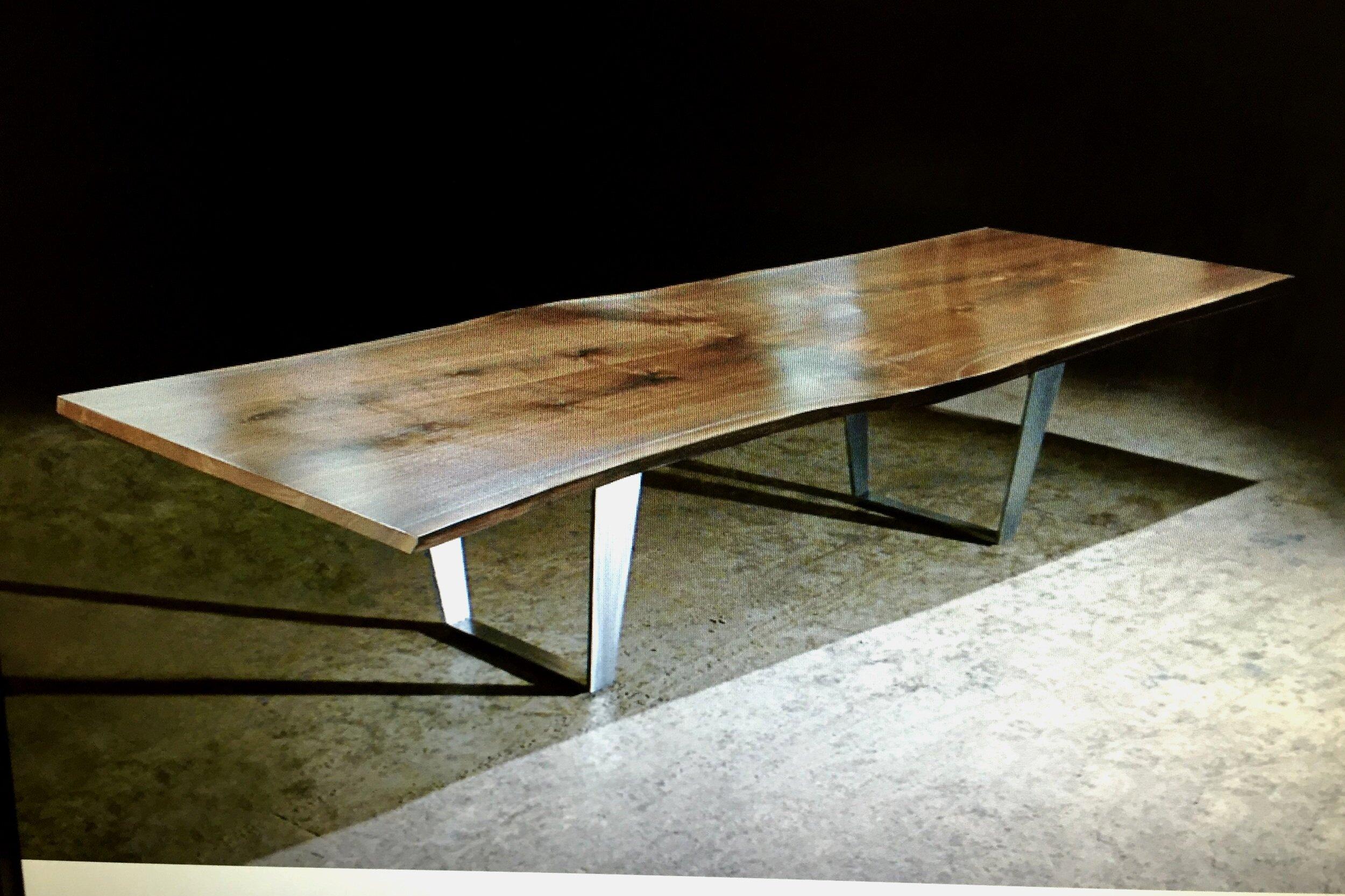 steel table base metal custom made