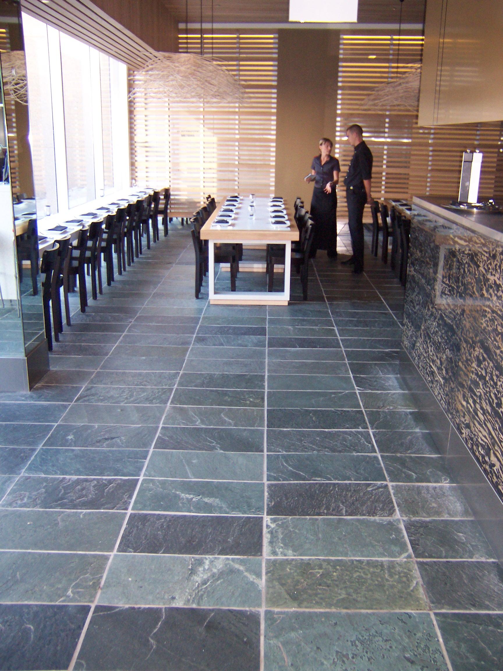 arctic green slate floor tiles bellstone