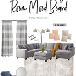 Transitional Living Room Mood Board H Prall Co
