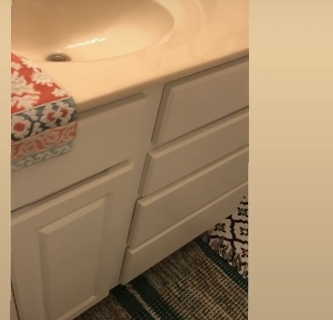 Bathroom Vanity Makeover H Prall Interior Design Blog