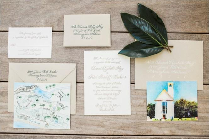 Eleanor Peter Watercolor Seaside Fl Wedding Leslie