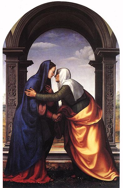 The Visitation, Mariotto Albertinelli, 1503