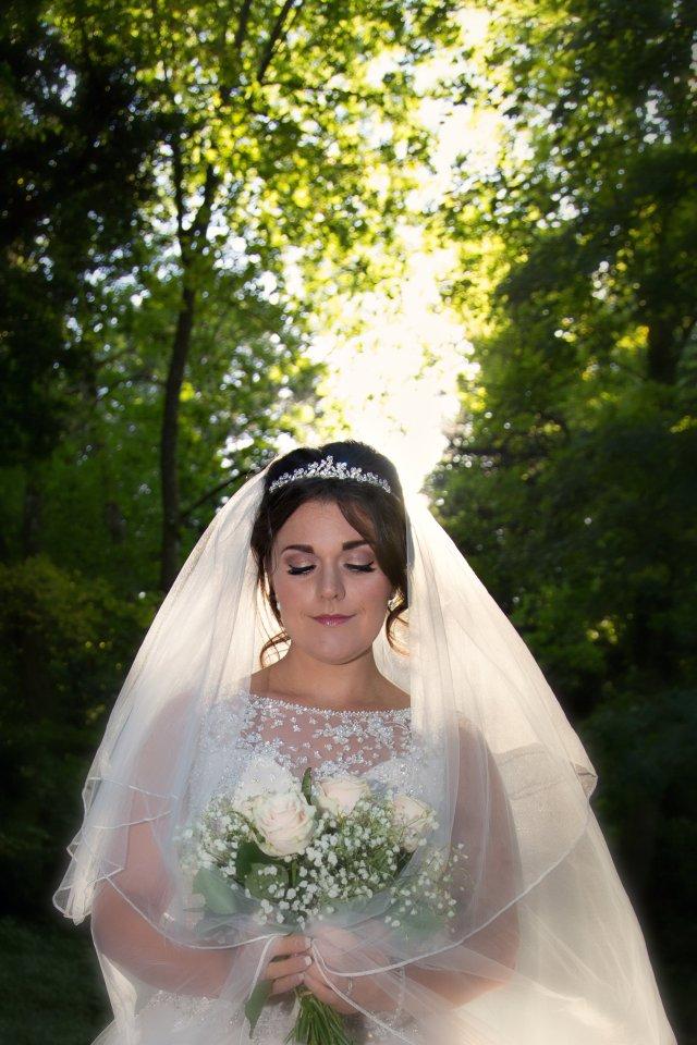 bridal — powder and pin