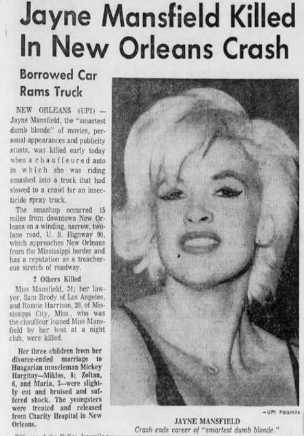 Jayne Mansfield (Dead Blondes Episode 9) — You Must Remember This