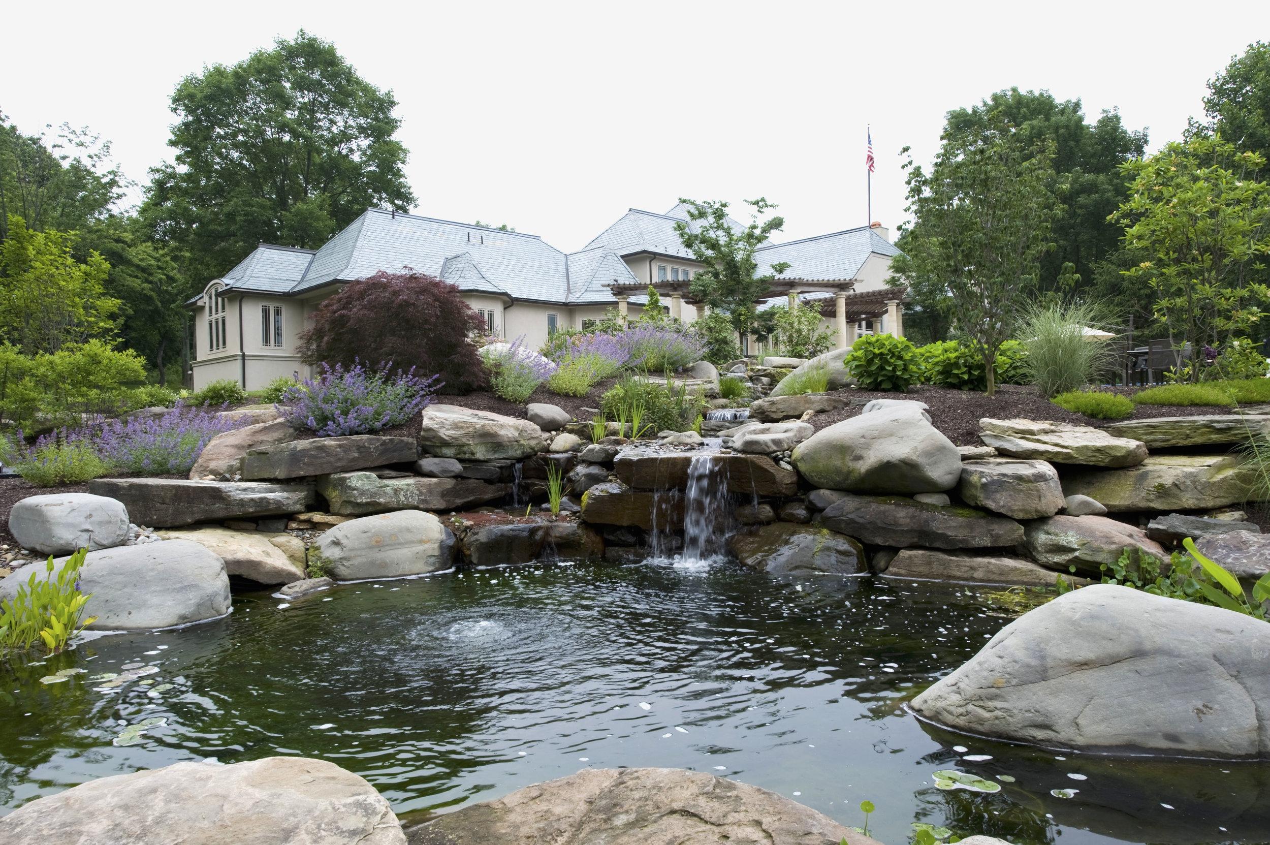 Koi Pond Vs Garden Pond What S The Difference Pondworks