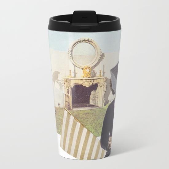 metal travel mug interchangeable