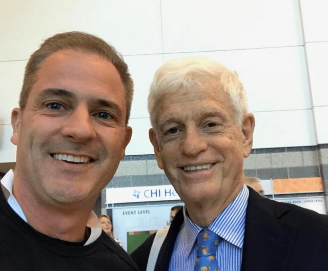 Meeting Mario Gabelli at BRK 2019