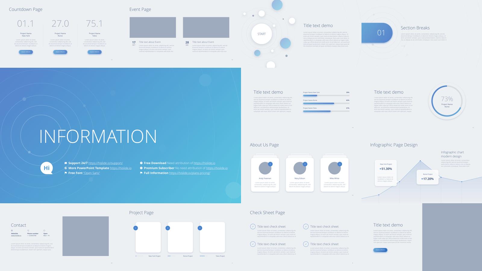Templates 免費 PowerPoint 簡報範本下載。讓你的報告呈現最佳效果 — BFA 簡報