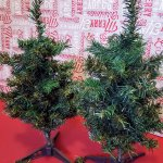 Dollar Tree Christmas Tree Hack Creating A Farmhouse Buffalo Check Christmas K S Olympic Nest