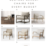 Peach Pine Home 7 Neutral Accent Chairs For Every Budget