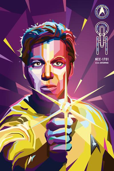 Wpap Color Palette : color, palette, Creating, Portrait, Illustrator, Mattgyver