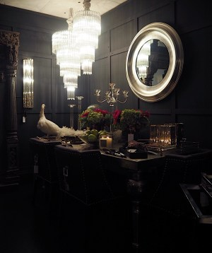 dark walls paint should cons pros mirror showroom interiors interior sweetpea willow melanielissackinteriors perfectly frames mirrors breast chimney