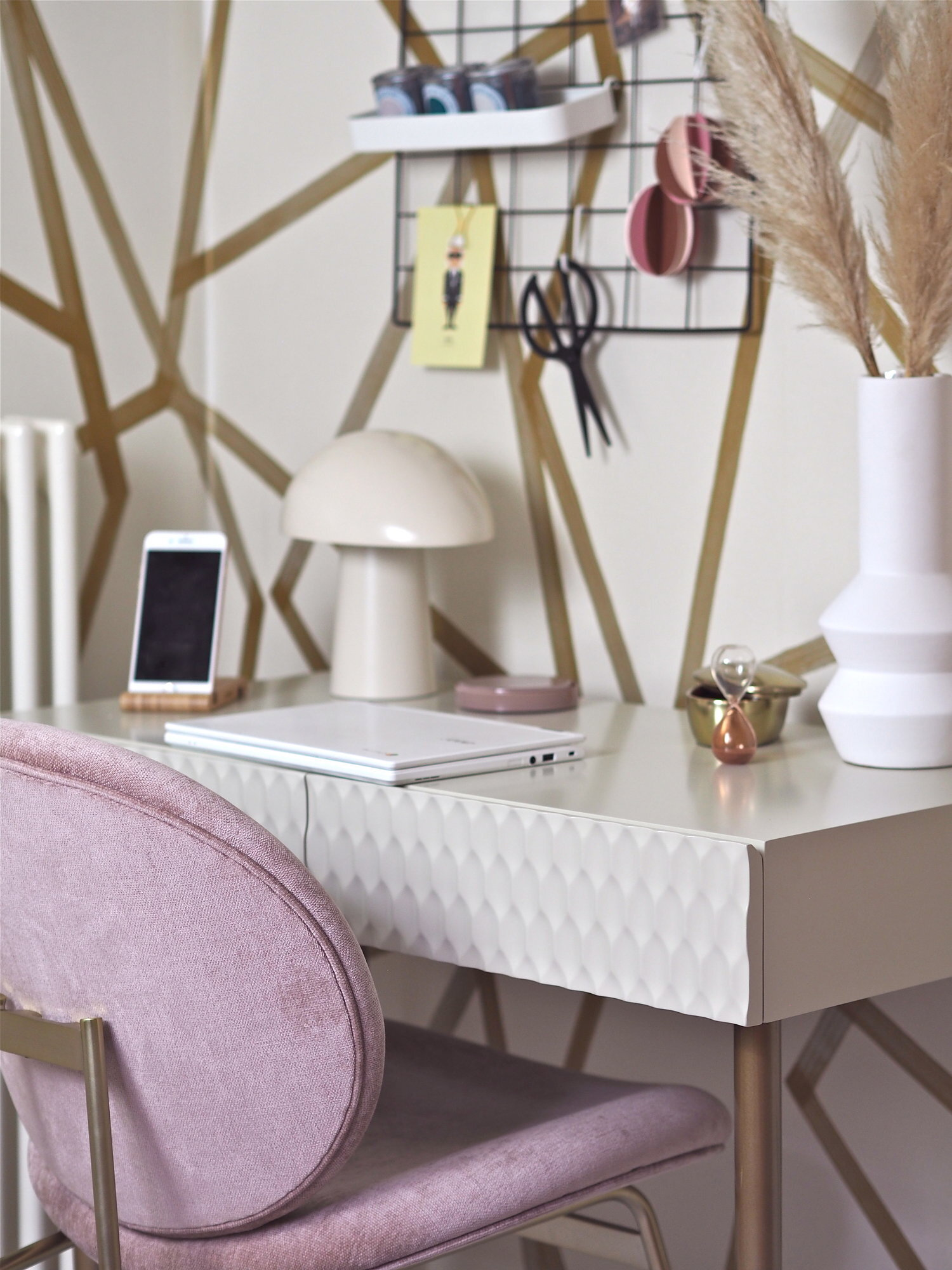Working From Home 5 Compact Desk Designs For Small Spaces Melanie Lissack Interiors